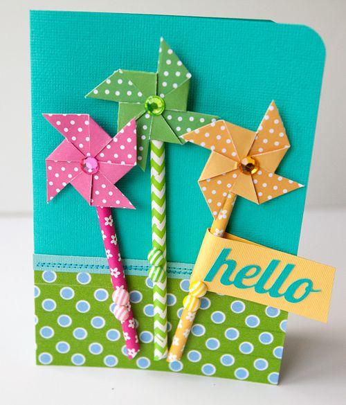 Hello pinwheels