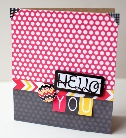 Hello You Card - Magic 2 - Susan WeinrothQ