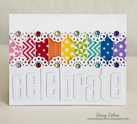 Celebrate Rainbow sized