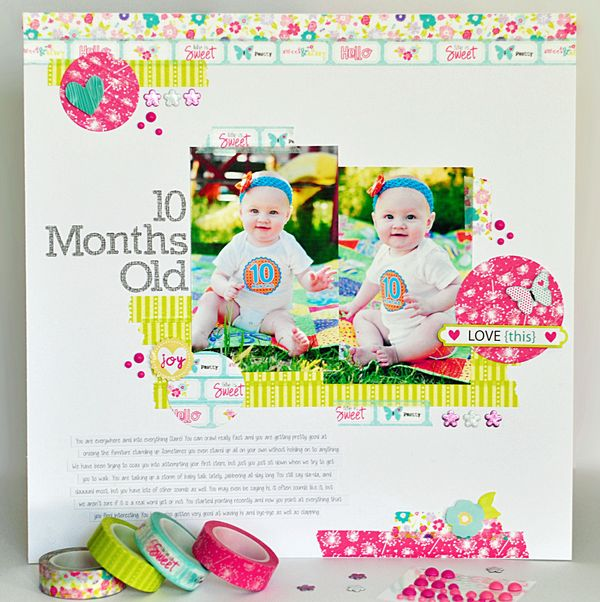 10 Months Old By Ginger Williams for Queen and Company