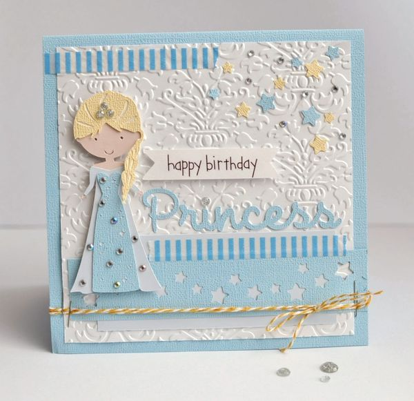Happy Birthday Princess by Ginger Williams for Queen and Company