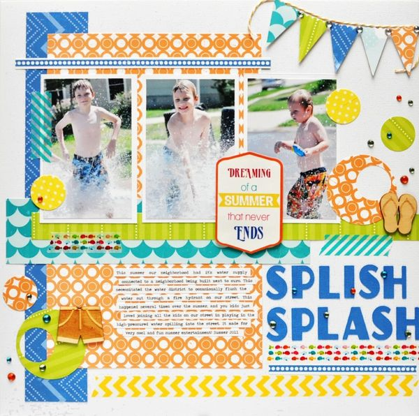 Splish Splash by Ginger Williams for Queen and Company