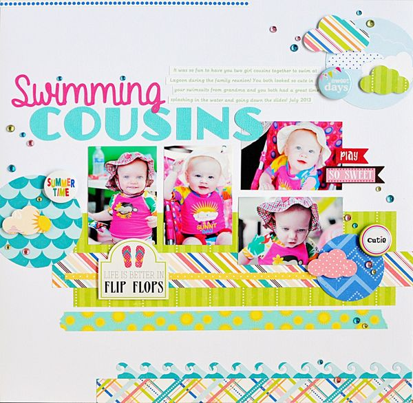 Swimming Cousins Queen and Company