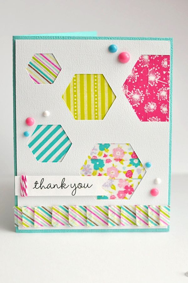 Thank You Card by Ginger Williams for Queen and Company