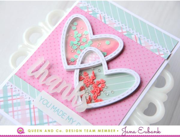 Jana Eubank Queen & Co Heart Throb Kit Thanks Card 2 640