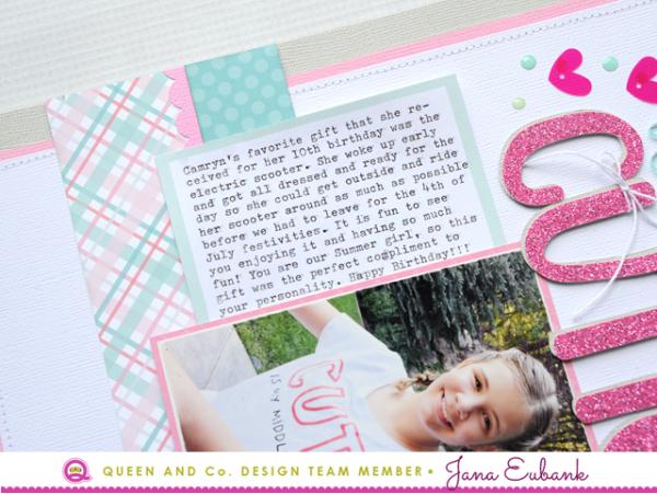 Jana Eubank Queen & Co Heart Throb Kit Hello Cutie Layout 3 640