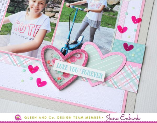 Jana Eubank Queen & Co Heart Throb Kit Hello Cutie Layout 4 640