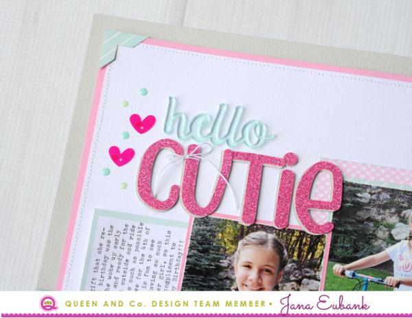 Jana Eubank Queen & Co Heart Throb Kit Hello Cutie Layout 2 640