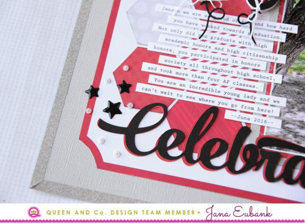 Jana Eubank Queen & Co Celebrate Graduation Layout 6 640