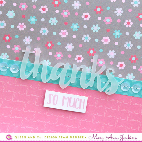 Mary Ann Jenkins - Thanks So Much Card - 2
