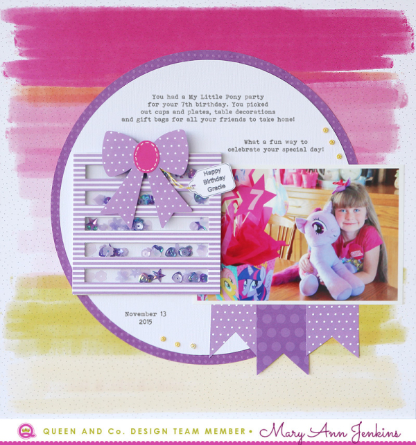 Mary Ann Jenkins - My Little Pony Layout - Photo 1